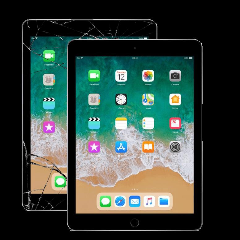 Apple iPad planšetinių kompiuterių remontas